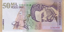 Colombian Peso Banknote