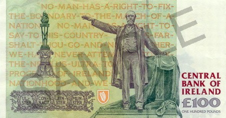 Irish Pound Banknote