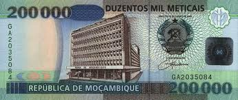 New Mozambican Metical Banknote