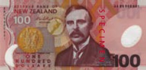 New Zealand Dollar Banknote
