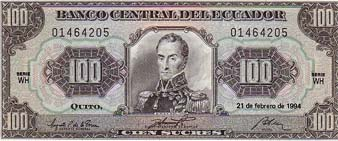 Sucre Banknote