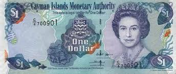 Cayman Islands Dollar Banknote