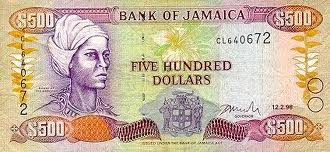 Jamaican Dollar Banknote