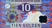 Dutch Guilder Banknote