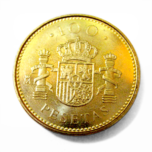 Spanish Peseta Coin