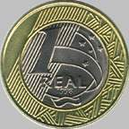 Brazilian Real Coin