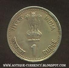 Indian Rupee Coin
