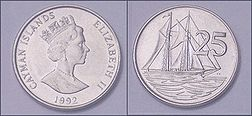 Cayman Islands Dollar Coin