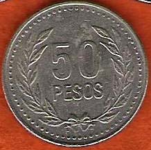 Colombian Peso Coin