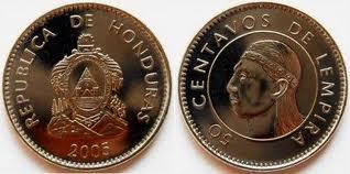 Lempira Coin Banknote