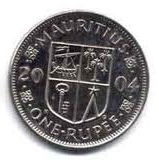 Mauritian rupees  Coin