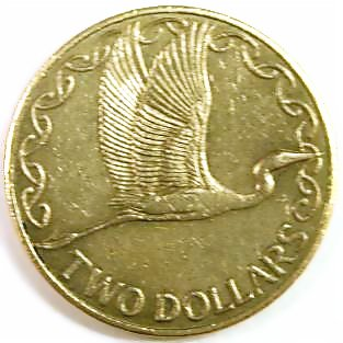 New Zealand Dollar Coin