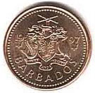 Barbados Dollar Coin