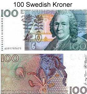 Sweden currency rate