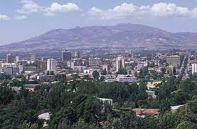 Photo of the city of Addis Ababa
