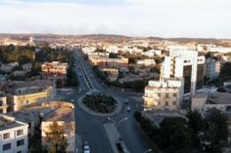 Photo of the city of Asmara