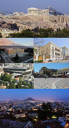 Photo of the city of Athens