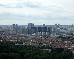 Photo of the city of Brussels