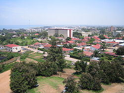 Photo of the city of Bujumbura