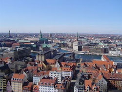 Photo of the city of Copenhagen