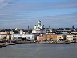 Photo of the city of Helsinki