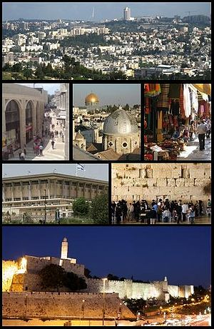 Photo of the city of Jerusalem