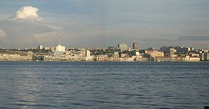 Photo of the city of Luanda