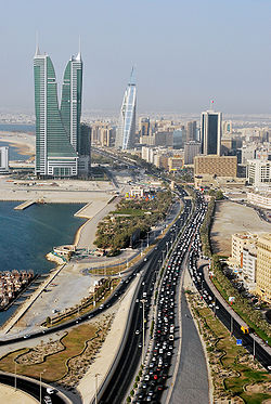 Photo of the city of Manama