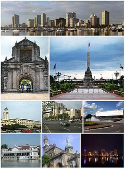 Photo of the city of Manila