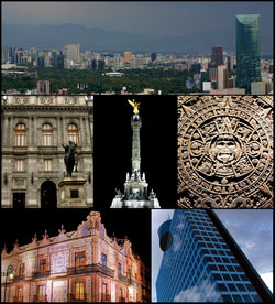 Photo of the city of Mexico City