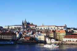 Photo of the city of Prague