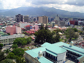 Photo of the city of San José