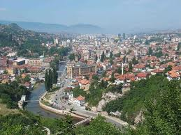 Photo of the city of Sarajevo
