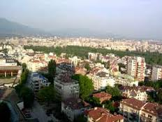 Photo of the city of Sofia