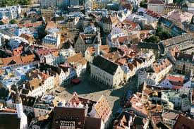 Photo of the city of Tallinn