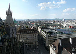 Photo of the city of Vienna