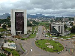 Photo of the city of Yaounde