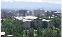 Photo of the city of Yerevan