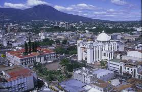 Photo of the city of San Salvador